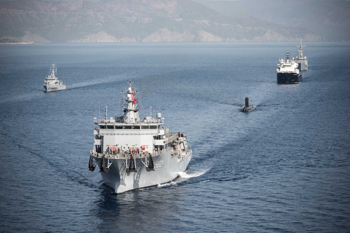 Turkey is hosting Dynamic Monarch 2017, NATO submarine rescue exercise...