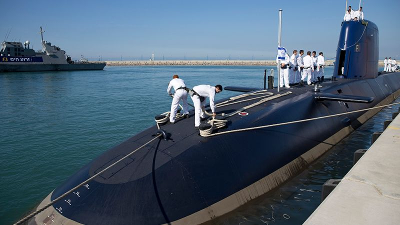 Germany & Israel signed MoU for 3 submarines