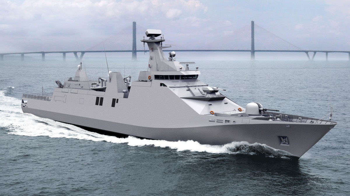 Indonesian Navy Sigma 10514 Class Frigate Sea Trials