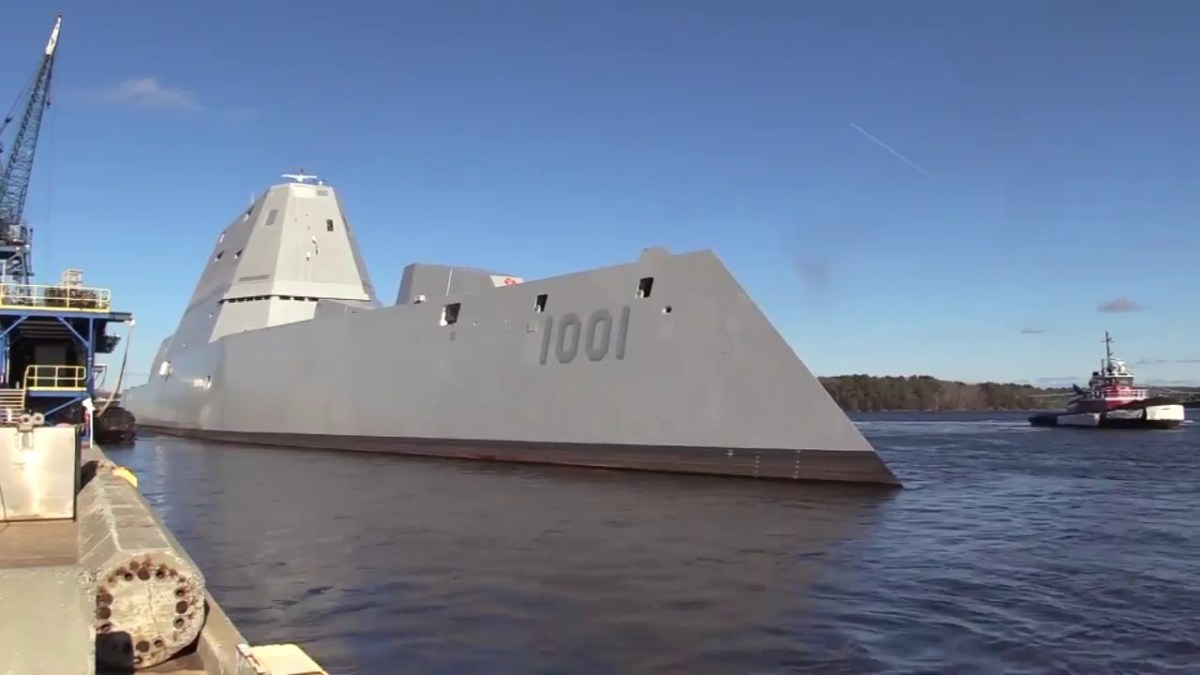 USS Michael Monsoor (DDG 1001) successfully completed acceptance trials