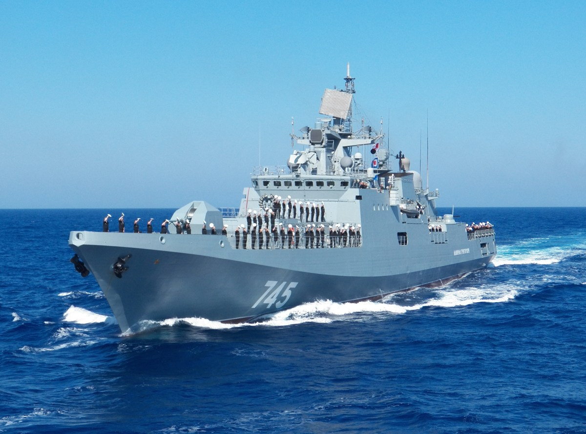 India to procure four Admiral Grigorovich Class Frigates from Russia