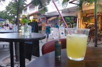 Sipping Margaritas and people watching in Mexico