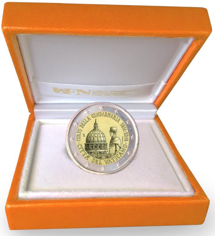Vatican City 2016 Proof Commemorative 2 Euro in Box
