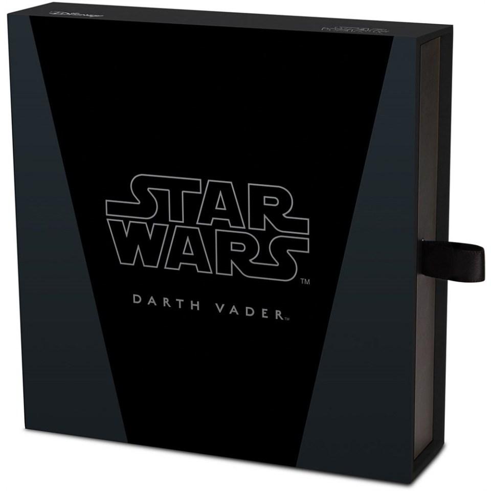 2016 Star Wars 1kg Silver Darth Vader Coin Box