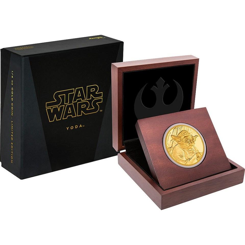 2016 Star Wars Yoda 1oz Gold Coin