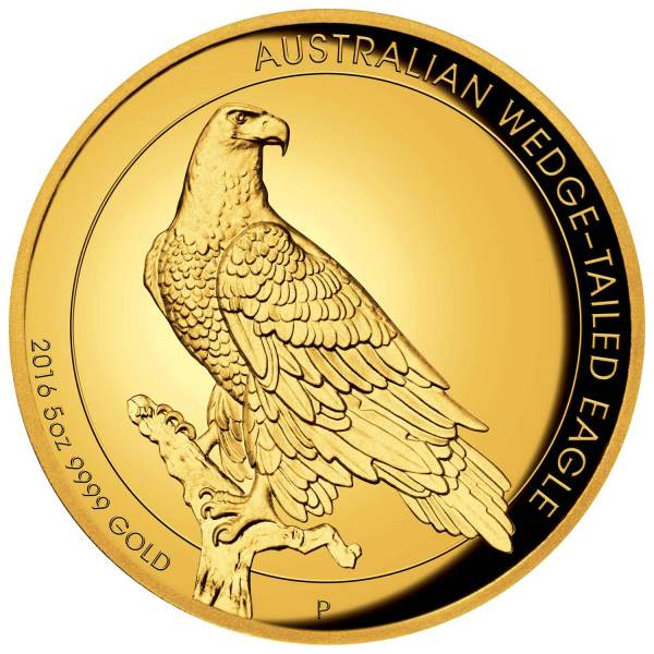 2016 Wedge-tailed Eagle – 5oz (Gold)
