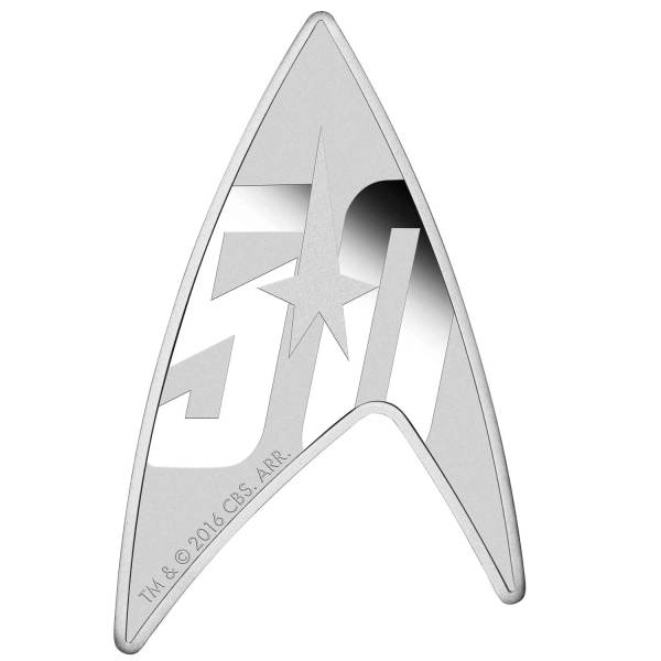 Star Trek: The Original Series – 50th Anniversary Delta Coin