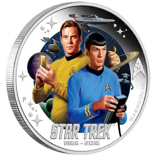 Star Trek: The Original Series Captain James T. Kirk and Spock