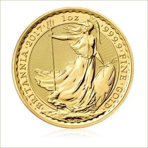 UK 2017 Britannia Bullion Gold Coin