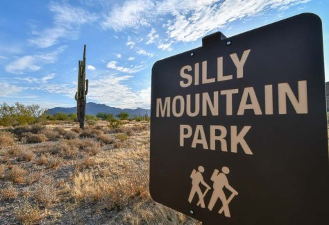 Silly Mountain Park in Apache Junction, AZ