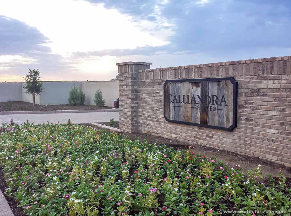 Calliandra Estates | Neighborhood In Gilbert, AZ