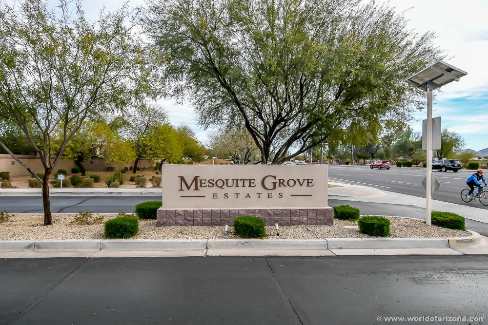 Mesquite Grove Estates | Neighborhood In Chandler, AZ