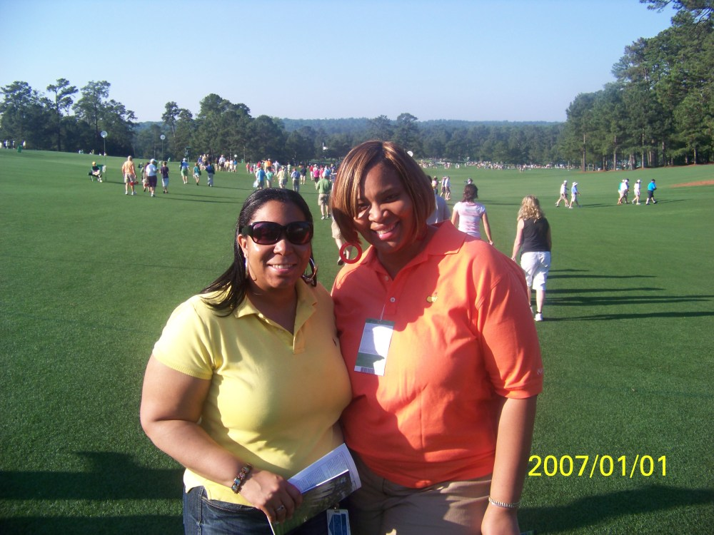 My day at the Masters 2012.. I saw Tiger Woods!!!  (2/6)