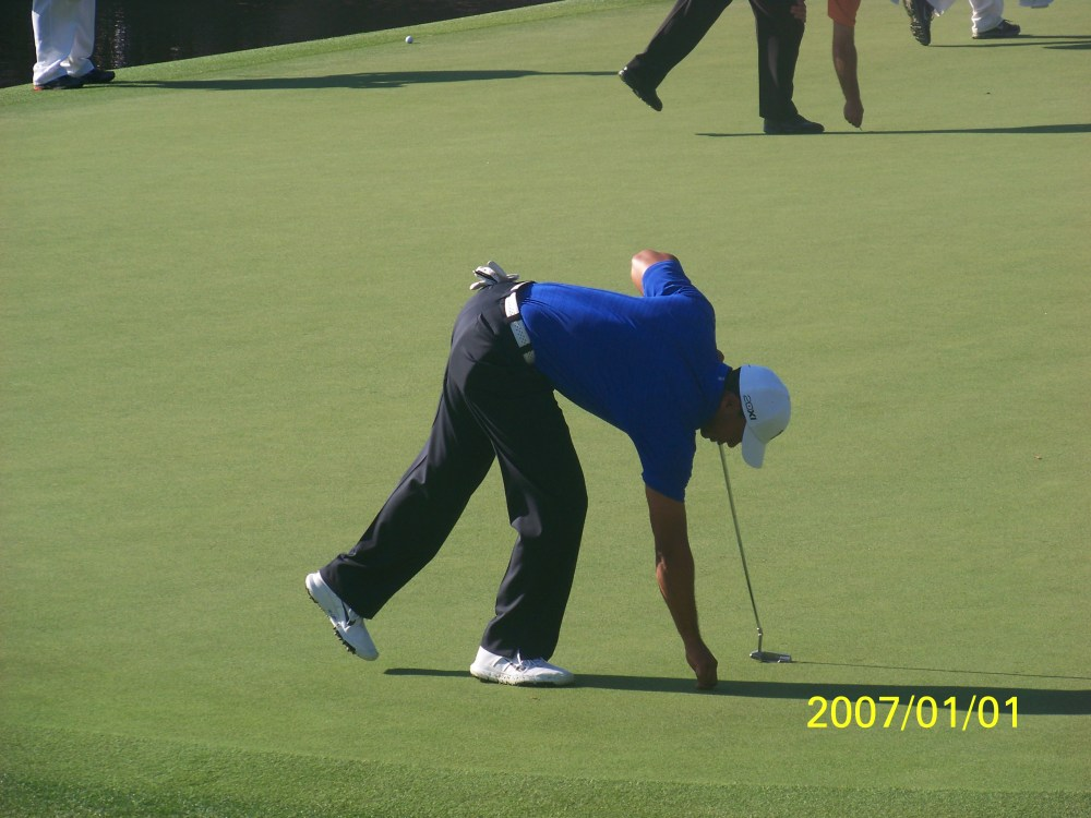 My day at the Masters 2012.. I saw Tiger Woods!!!  (6/6)