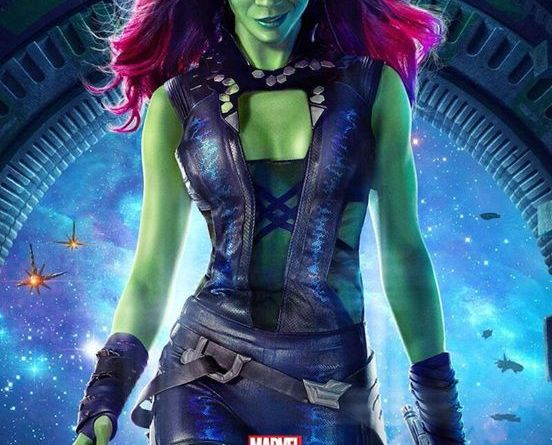 Latest Guardians of the Galaxy Poster: Zoe Saldana's ... |Gamora Guardians Of The Galaxy Trailer