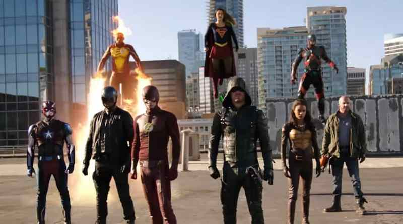 CW's Four-Show DC Crossover Trailer!