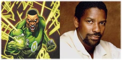 Green Lantern Denzel Washington 1
