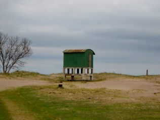 WWII observation point at Tentsmuir Beach