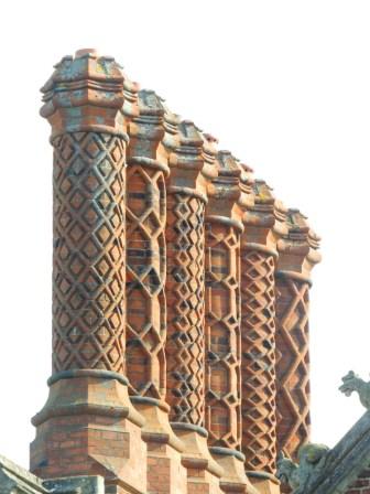 The Tudor chimneys