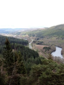 Looking over Perthshire towards the Cairngorms