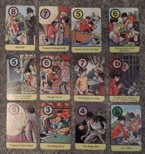 famous five card game