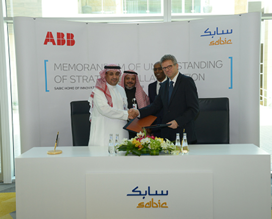 ABB, Sabic sign agreement drive chemical industry innovation