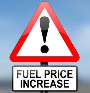 Fuel Price Increase because of drone strikes