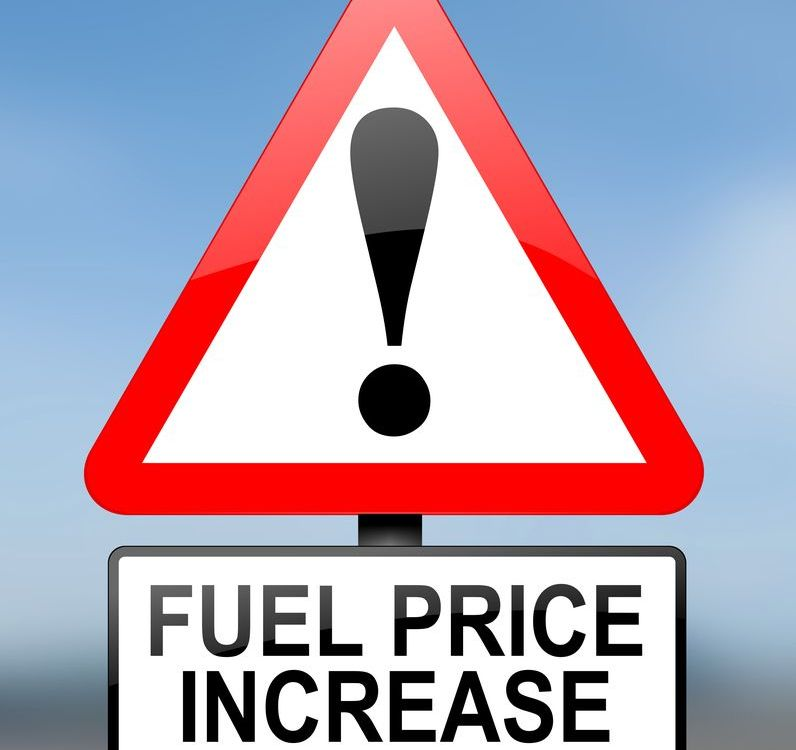 Fuel Price Increase