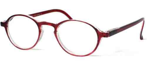 Lennon Super Power Reading Glasses in Ruby
