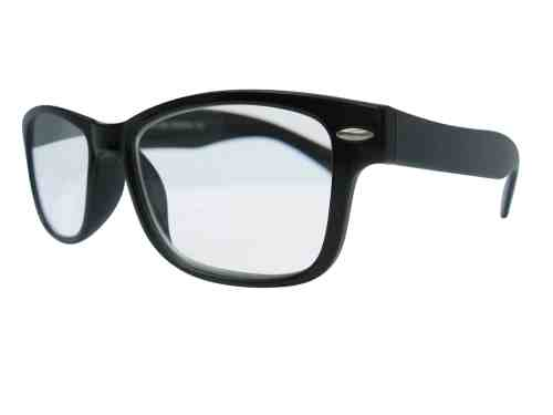 Wayfarer Reading Glasses in Black