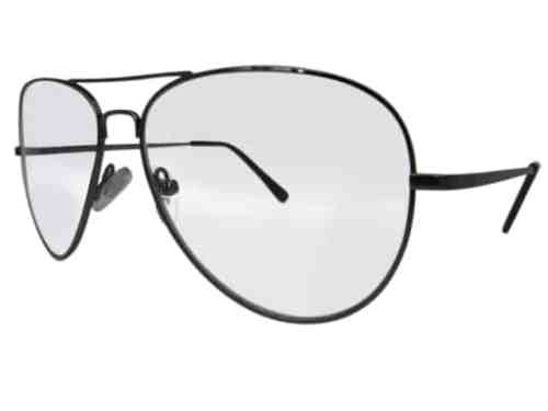 Nebraska Aviator Bifocal Reading Glasses in Pewter