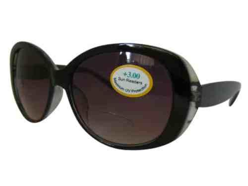Carolina Bifocal Sunglasses in Smoke