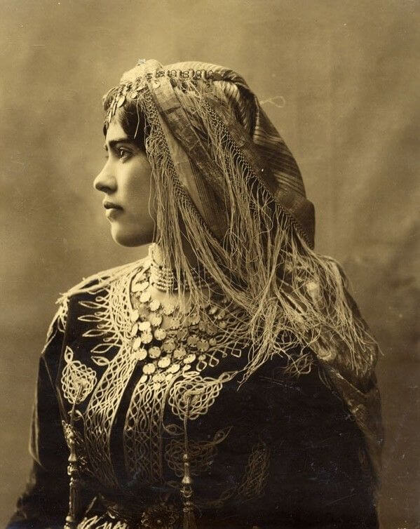 Do Thái từ Algeria, khoảng năm 1890