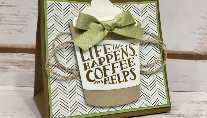 Coffee Cafe Gift Bag