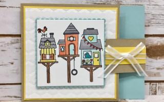 Flying Home Flip Fold Card