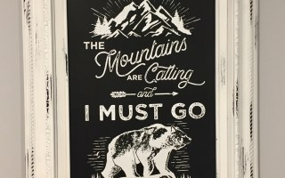 Chalk Couture – Mountains Are Calling