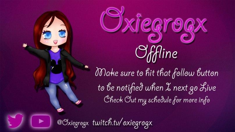 WorldOfMadness Designs new Offline Screen for Oxiegrogx
