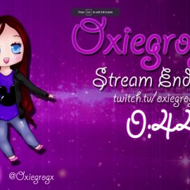 WorldOfMadness Designs new Outro for Oxiegrogx