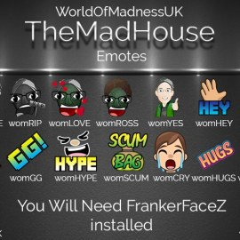 Updated and New Emotes For the Channel – Check them out