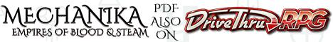Mechanika PDF on DriveThruRPG