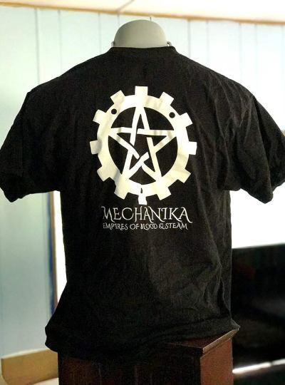 Sons of Tesla Shirt Back