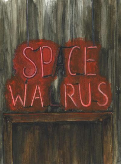 Drinks at the Space Walrus