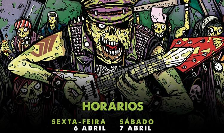 Revelados Horários do Moita Metal Fest
