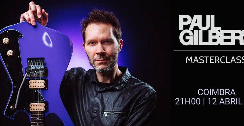 Segunda Edição do Ciclo Virtuosos da Guitarra com Paul Gilbert (Mr. Big / Racer X) a 12 de Abril em Coimbra