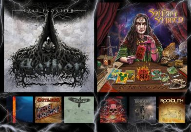 WOM Reviews – Last Frontier / Solitary Sabred / Lord Of Light / Turbo Distortion / Outlaws / Intense / Eulogy / Rockolith