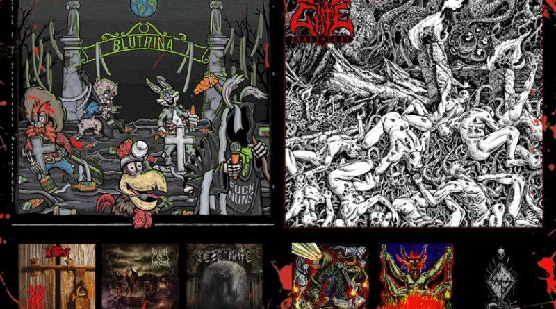 WOM Reviews – Blutrină / Living Gate / Goat Necropsy / Tithe / Vitam Et Mortem / Hyle / Desecrate / Heresiarch / Antediluvian