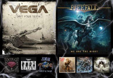 WOM Reviews – Vega / Magnus Karlsson's Free Fall / Hartmann / Leather Synn / Dictator Ship / Powerwolf / Blizzen / Coffeinne