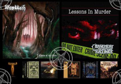 WOM Reviews – Wombbath / Basement Torture Killings / Akurion / Black Curse / Ritual Mass / Savage Annihilation / Deface / Slaying Of Death