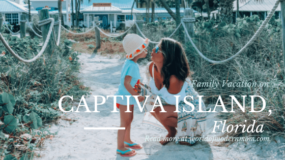 Family vacation on Captiva Island, FL