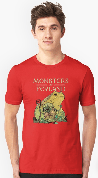 Screenshot_2019-05-21 'Frog Witch from Monsters of Feyland' T-Shirt by cawoodpublish(1)